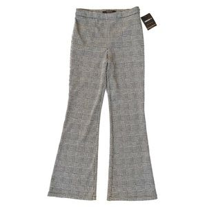 [Forever 21] NWT Houndstooth Wide Leg Pants